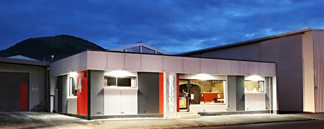 Seddon's showroom